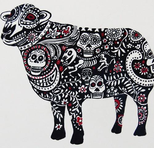 Sheep Skully