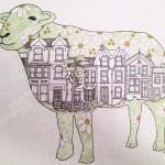 flowery house sheep