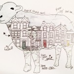 keswick street sheep