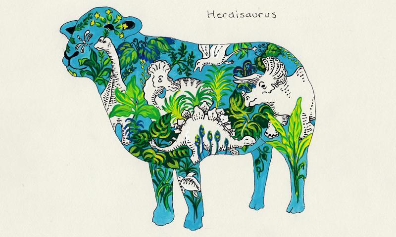 Alison Bell - Herdisaurus