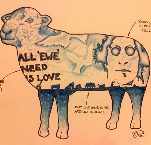 All ewe need is love