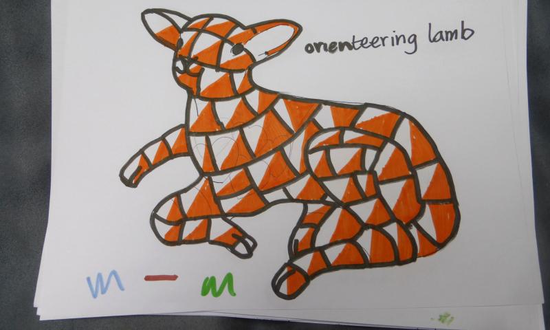 orienteering lamb